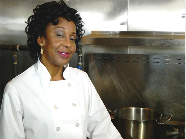 Brenda Beener, owner and chef at Seasoned Vegan in Harlem, NY (Photo/Kori Raishon)